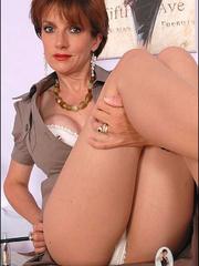 Sexy panty hose. Sonia shows off her legs. - Unique Bondage - Pic 6