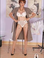 Sexy panty hose. Sonia shows off her legs. - Unique Bondage - Pic 10