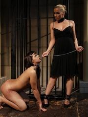 Sex slave. Ginna and Kathia Nobili in a - Unique Bondage - Pic 12