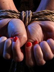 Bondage sex. Watch Mandy Bright as she - Unique Bondage - Pic 4