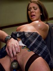 Rough hard sex. Brazilian girl in bondage - Unique Bondage - Pic 4