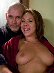Rough hard sex. Brazilian girl in bondage - Unique Bondage - Pic 15