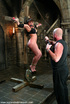 Bdsm sex. Ava Devine is bound and dominated while enduring anal.