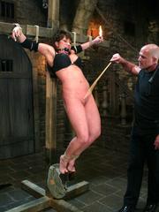 Bdsm sex. Ava Devine is bound and dominated - Unique Bondage - Pic 3