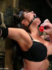 Bdsm sex. Ava Devine is bound and dominated - Unique Bondage - Pic 4