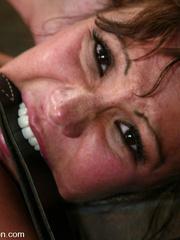 Bdsm sex. Ava Devine is bound and dominated - Unique Bondage - Pic 9