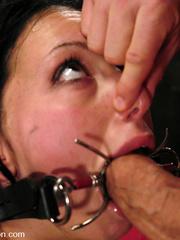 Roughsex. Submissive Veronica Jett is bound, - Unique Bondage - Pic 8