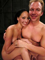 Roughsex. Submissive Veronica Jett is bound, - Unique Bondage - Pic 15