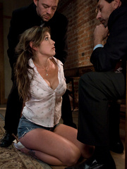 Rough sex porn. Felony tied up and double - Unique Bondage - Pic 1