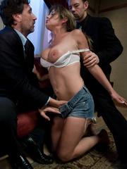 Rough sex porn. Felony tied up and double - Unique Bondage - Pic 3