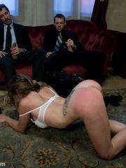 Rough sex porn. Felony tied up and double - Unique Bondage - Pic 4