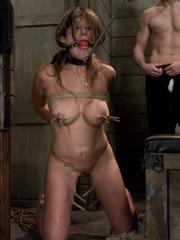 Rough sex porn. Felony tied up and double - Unique Bondage - Pic 10