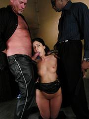 Rough hard sex. Girl in bondage fucked by - Unique Bondage - Pic 5
