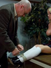Humiliation. Madison Scott punished and - Unique Bondage - Pic 1
