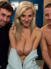 Humiliation. Natural busty girlfriend - Unique Bondage - Pic 15
