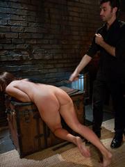 Rough porn. Ashli manhandled and ass fucked - Unique Bondage - Pic 8