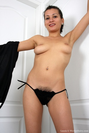 Sexy hairy. When lovely Laura feels horn - XXX Dessert - Picture 6