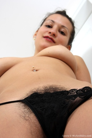 Sexy hairy. When lovely Laura feels horn - XXX Dessert - Picture 7
