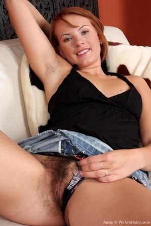 Hairy babes. Amazing Ansie spreads her m - XXX Dessert - Picture 8