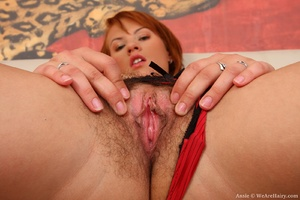 Hairy beauty. Beautiful Ansie slips into - XXX Dessert - Picture 11