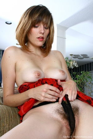 Hairy vagina. Sasha is at her natural be - XXX Dessert - Picture 6