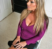 Office porn. Hot and horny chick fucks and sucks off her boss to get the