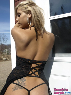 Sexy blonde porn. In this video naughty  - XXX Dessert - Picture 1