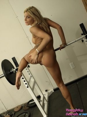 Blond xxx. Sarah is one horny little nas - XXX Dessert - Picture 14
