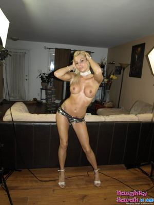 Sexy blondes. In this Naughty Sarah vide - XXX Dessert - Picture 11