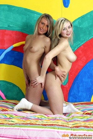 Teen porn. Two nasty teenagers playing d - XXX Dessert - Picture 13