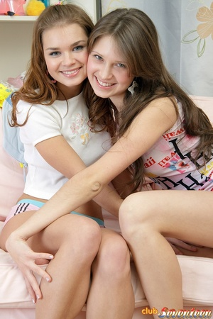 Two Hot Lesbian Cutie Picture 1