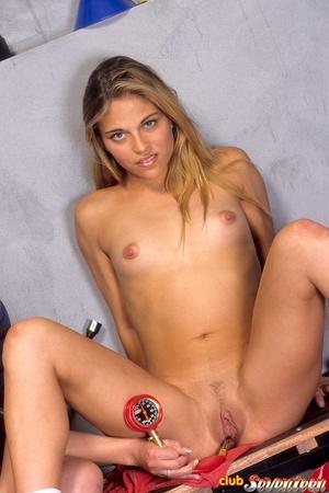 Teen girls sex. Two lesbian blondes enjo - XXX Dessert - Picture 13