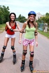 lesbi two skating teenage