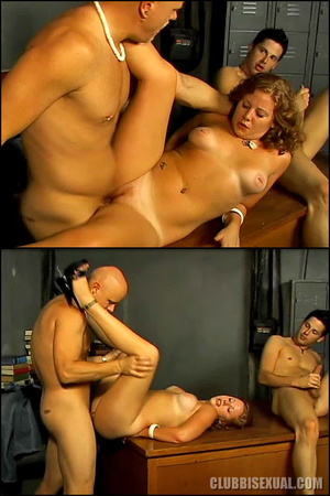 Bi orgy. Cherry Poppens Catching Her Boy - XXX Dessert - Picture 16
