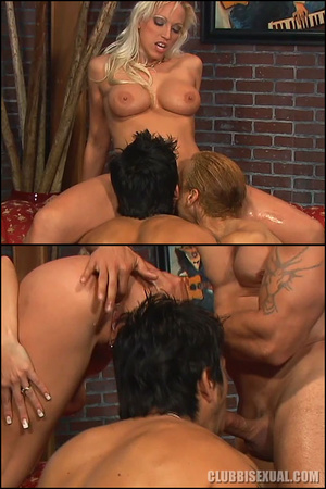 Bisex porn. Nikky Hunter Fucks a Guy wit - XXX Dessert - Picture 16