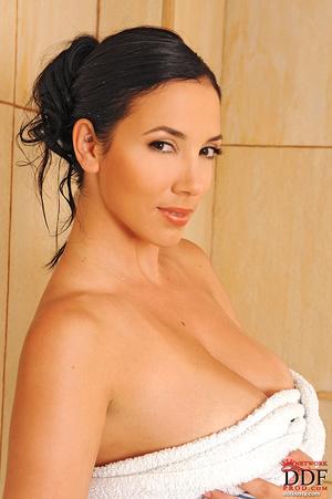 Xxx boobs. Busty brunette Jelena Jensen  - XXX Dessert - Picture 16