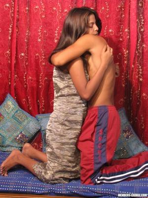 Indian nude girls. Hot teen sucking dick - XXX Dessert - Picture 11