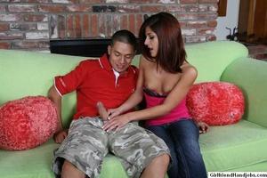 Hand job sex. Doctor gets a handjob from - XXX Dessert - Picture 13