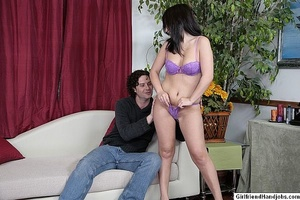 Tug jobs. Horny man gets a handjob from  - XXX Dessert - Picture 3