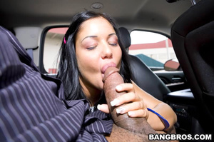 Horny big cock. She's a cute Colombian g - XXX Dessert - Picture 2