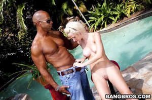 Interracial porn. They got to know each  - XXX Dessert - Picture 7