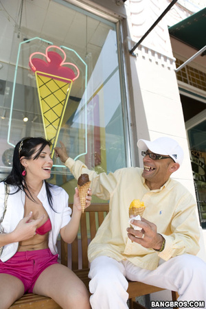 Big dick sex. One of the hottest brunett - XXX Dessert - Picture 6