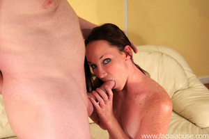 Deepthroat gagging. Slamming her cervix  - XXX Dessert - Picture 3