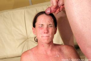 Deepthroat gagging. Slamming her cervix  - XXX Dessert - Picture 9
