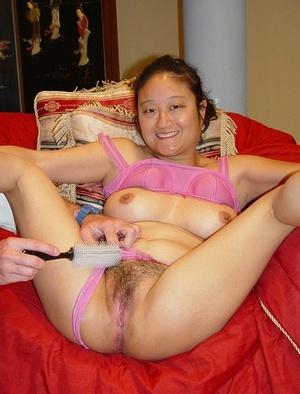 Hairy twat. Exotic Asian model Yoko taki - XXX Dessert - Picture 2