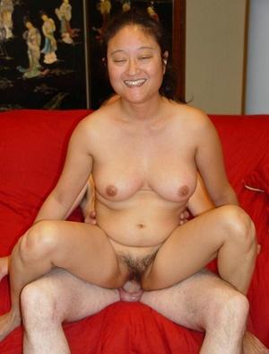 Hairy twat. Exotic Asian model Yoko taki - XXX Dessert - Picture 18