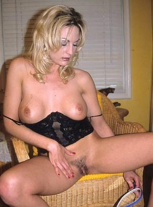 Hairy porn. Pretty blonde porn babe with - XXX Dessert - Picture 8