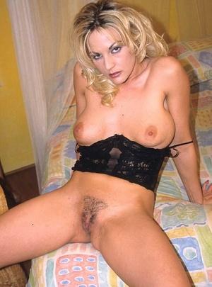 Hairy porn. Pretty blonde porn babe with - XXX Dessert - Picture 10