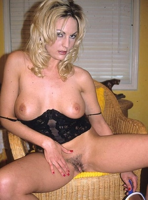 Hairy porn. Pretty blonde porn babe with - XXX Dessert - Picture 11