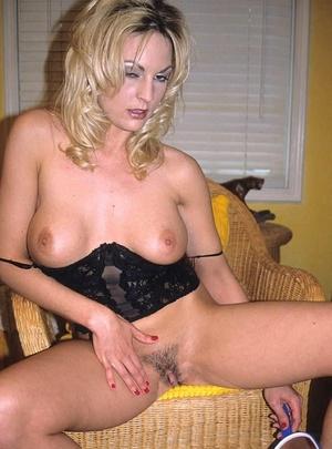 Hairy porn. Pretty blonde porn babe with - XXX Dessert - Picture 15